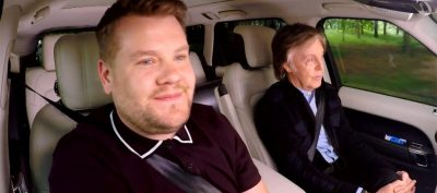 El Carpool Karaoke de Paul McCartney